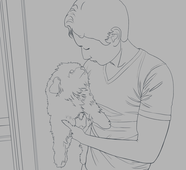 Man's Best Friend (WIP Sketch)