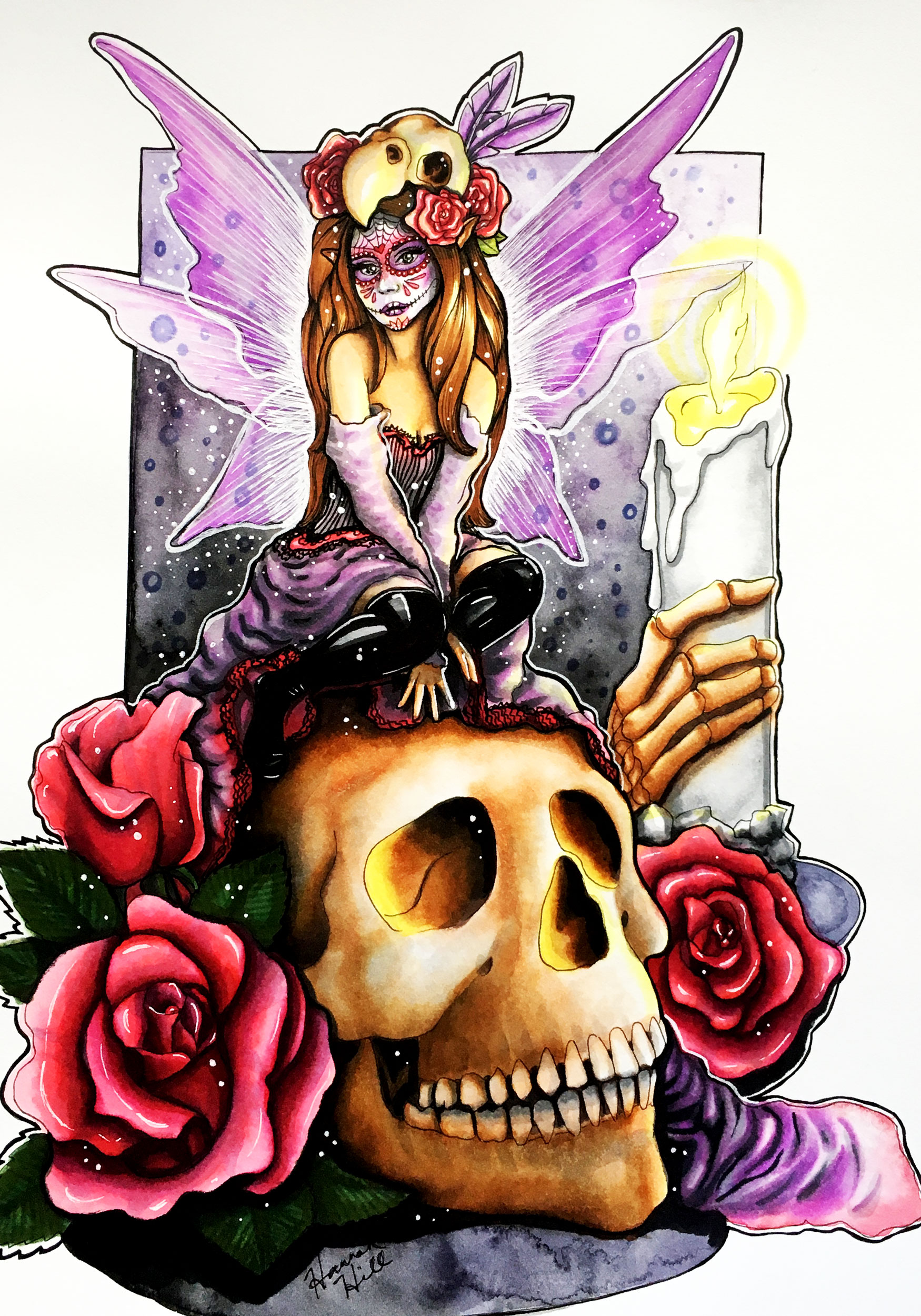 Sugar Skull Faerie