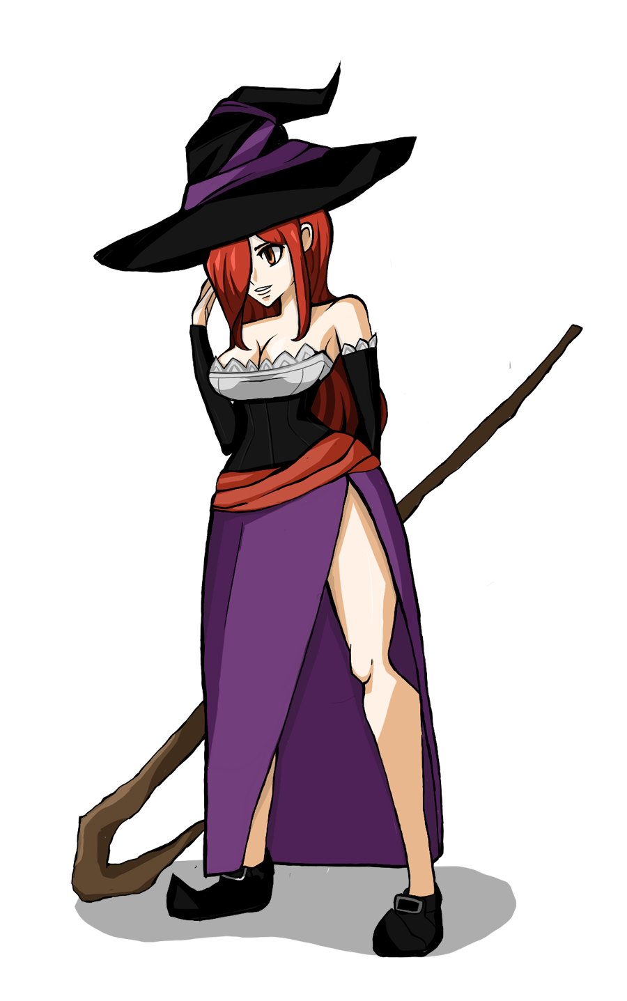 Sorceress SG style.