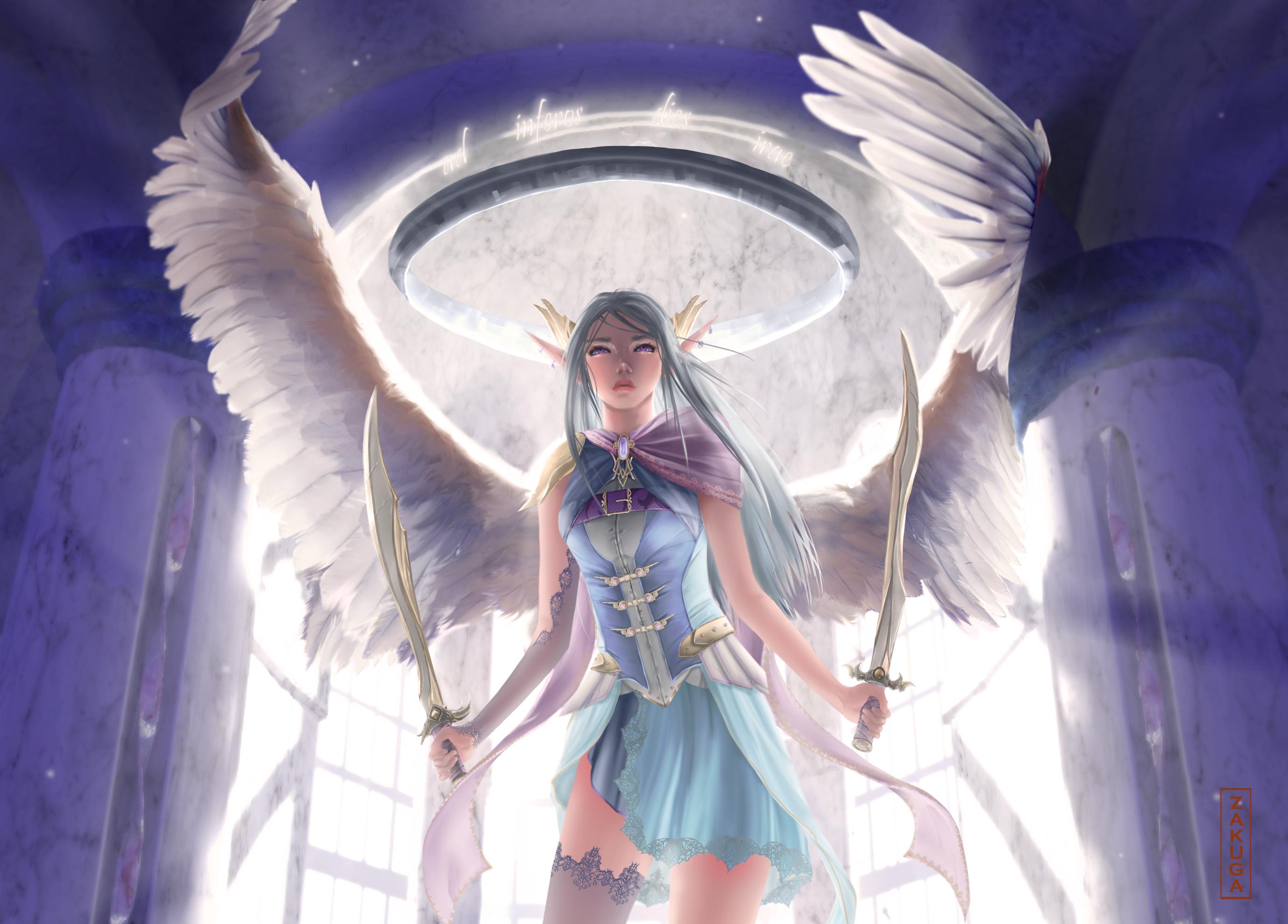 Angel - close