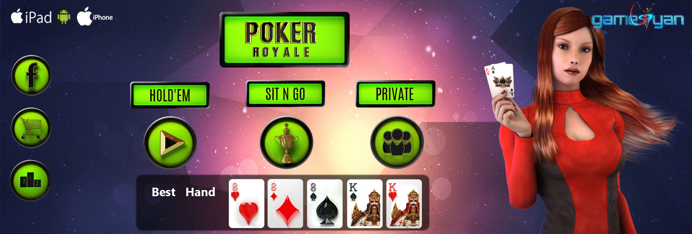 Royale Poker Game Design