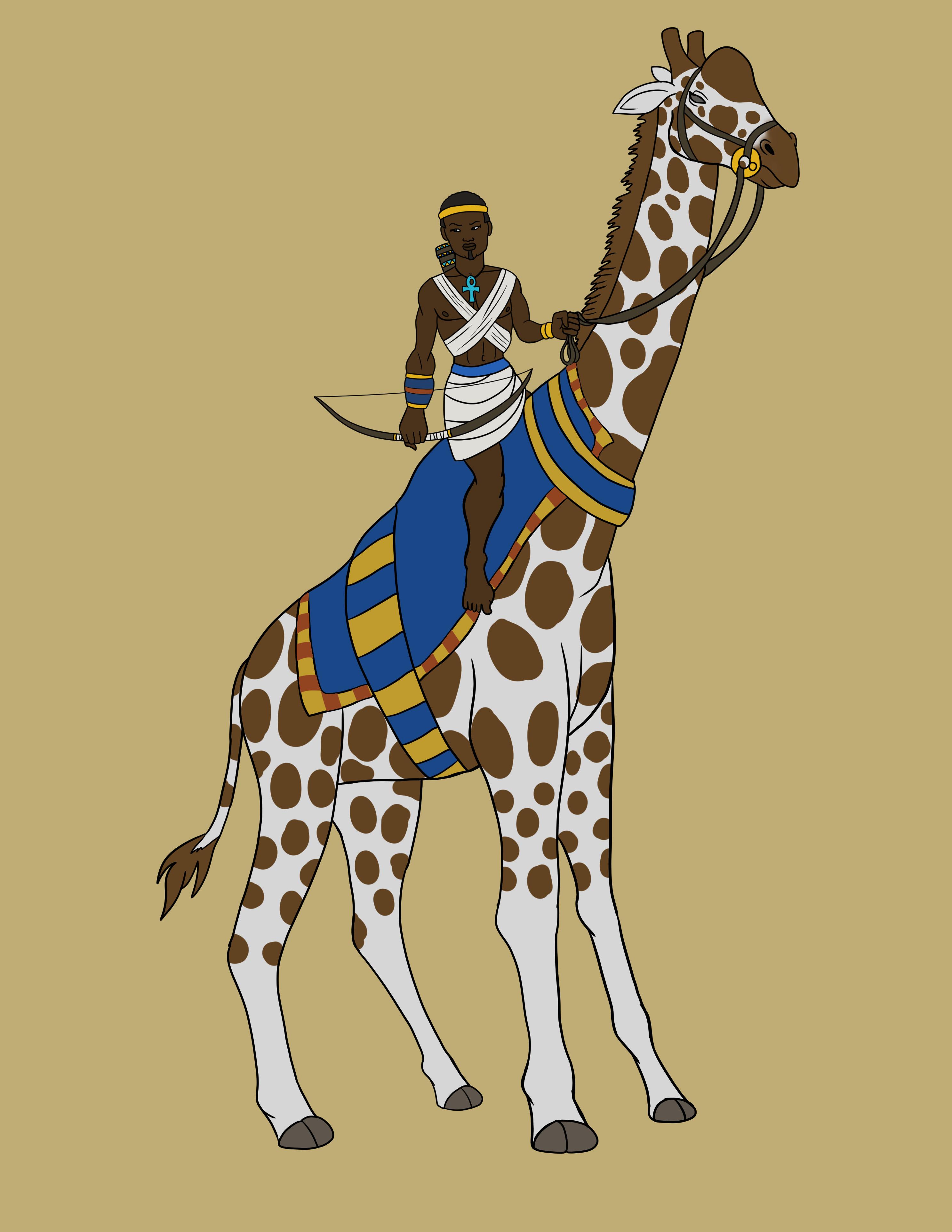 Egyptian Giraffe Scout
