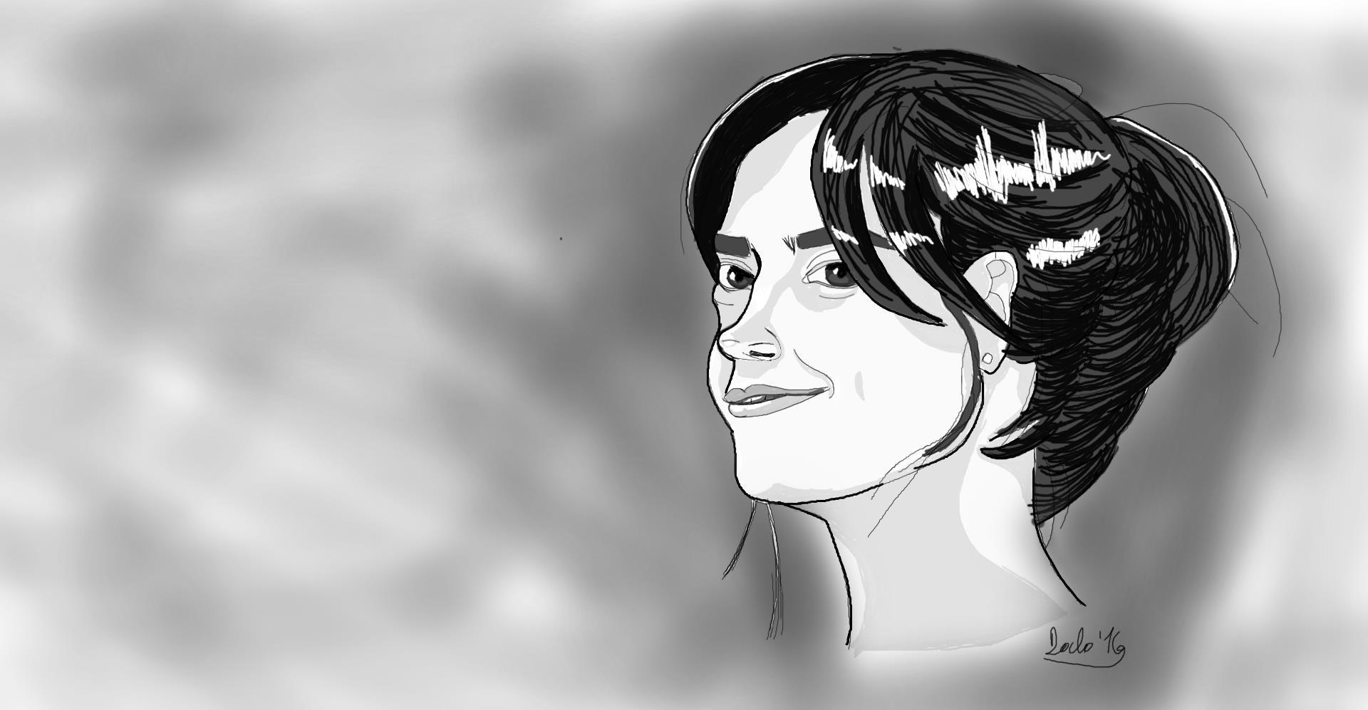 Jenna Coleman portrait