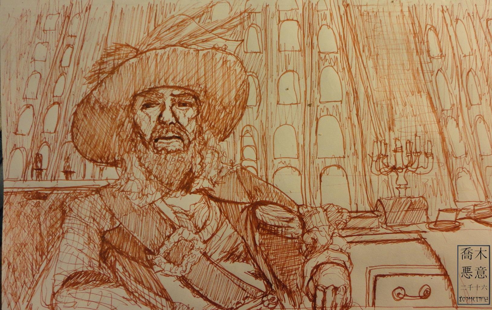 Captian Hector Barbossa