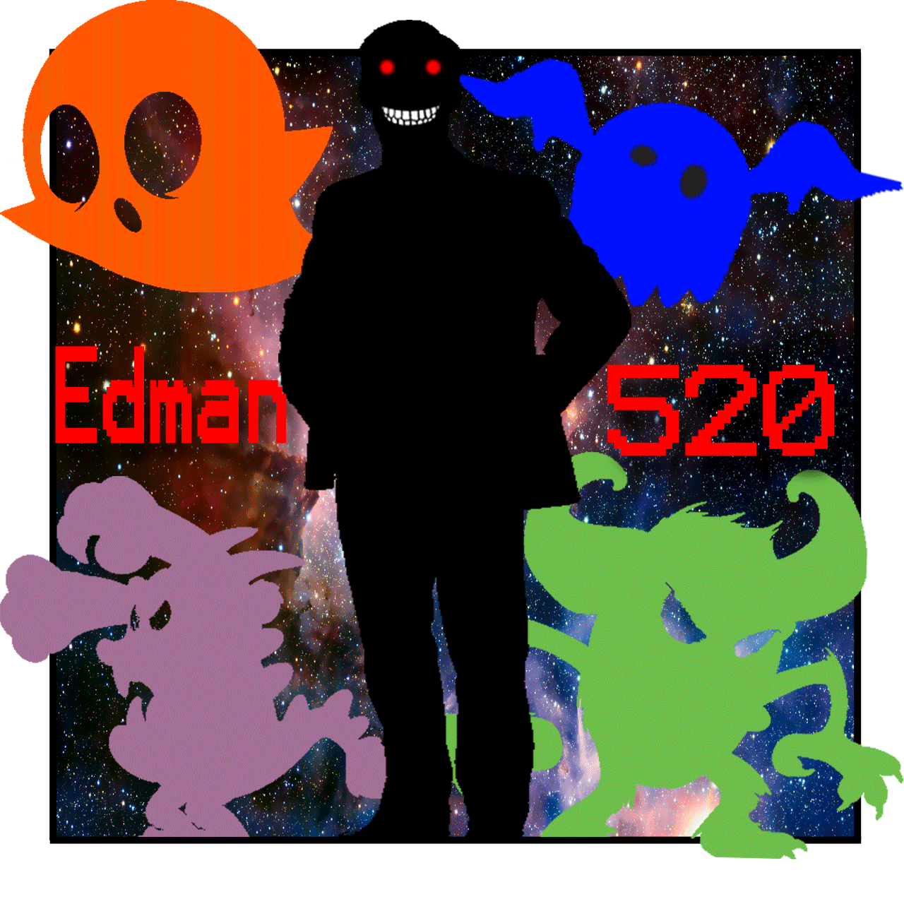 Edman520 Logo (With words)
