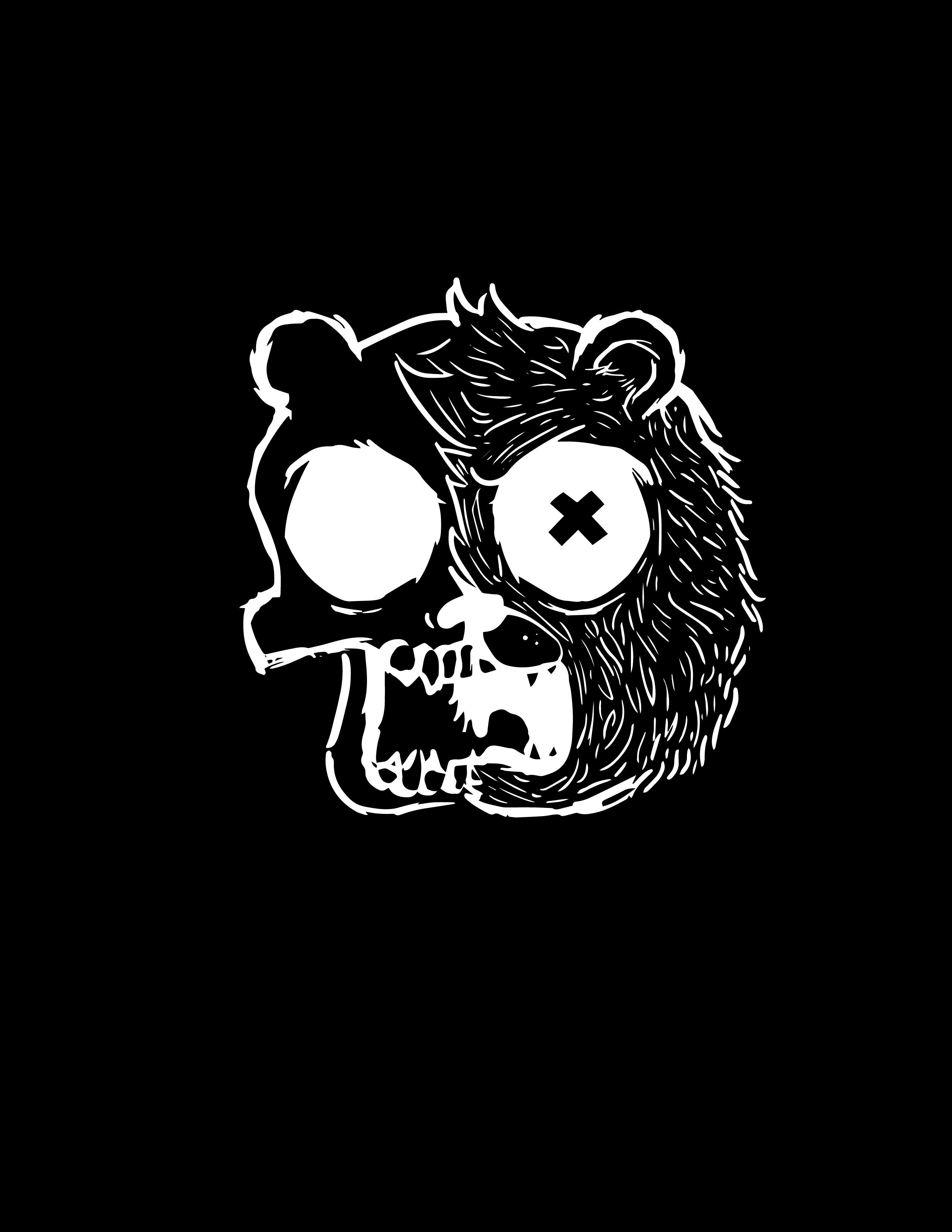 Bear (White outline)