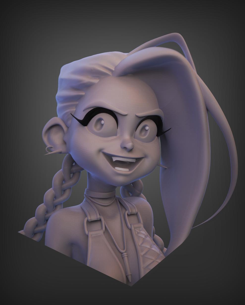 Jinxy Quick Sculpt