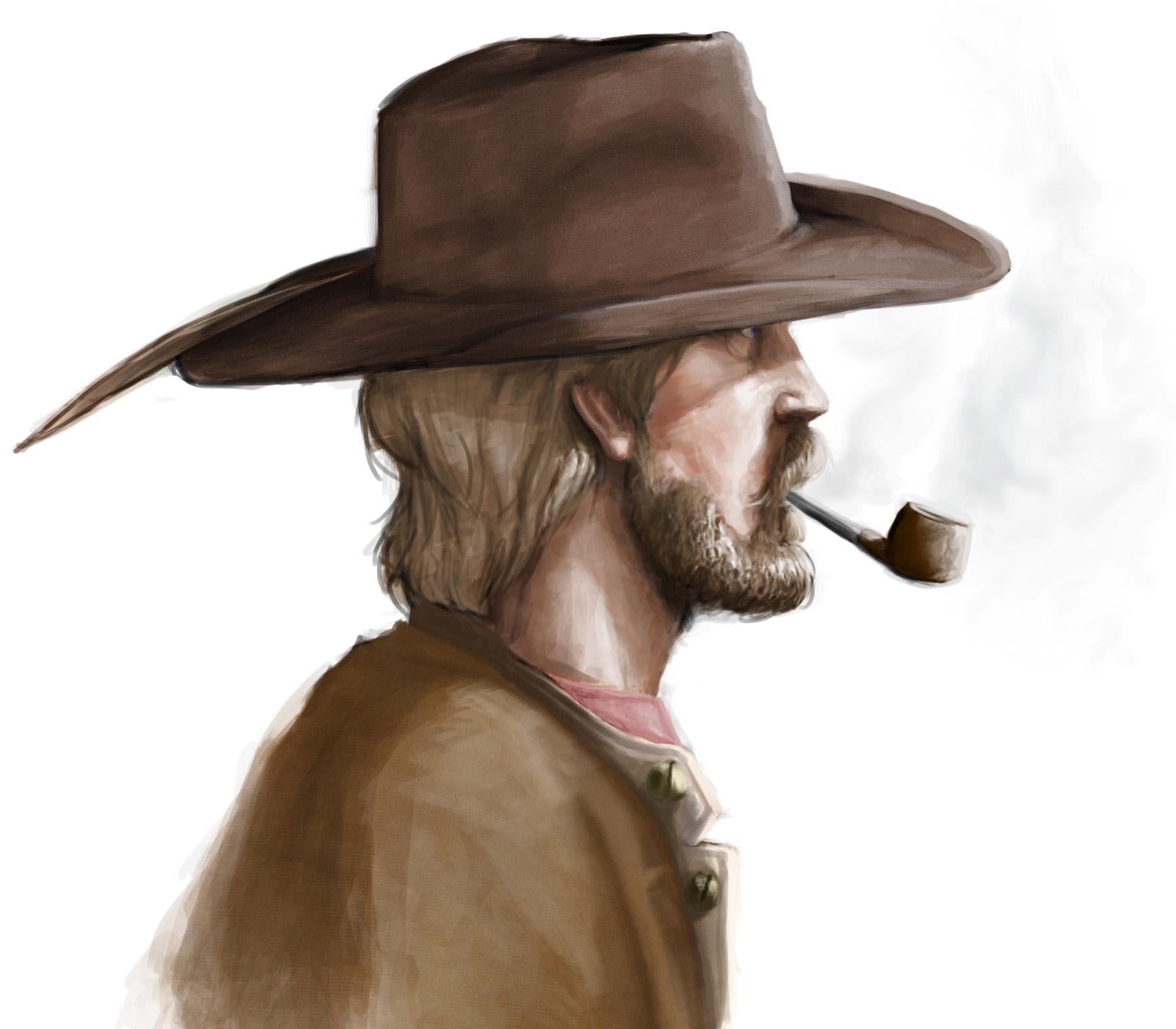 Smoking Confederate