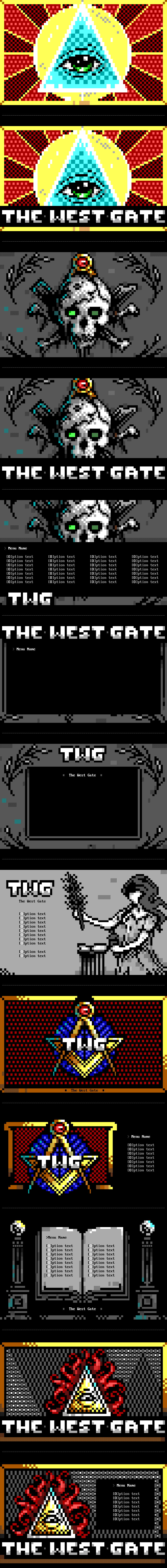 The West Gate BBS Theme