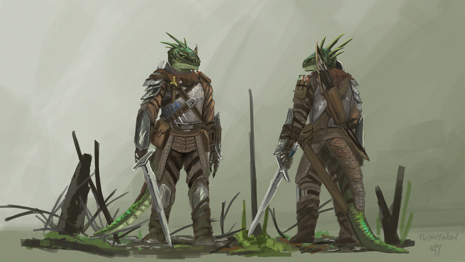 Prowling knight