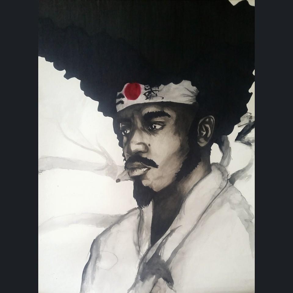 Andre 3000 as Afro Samurai