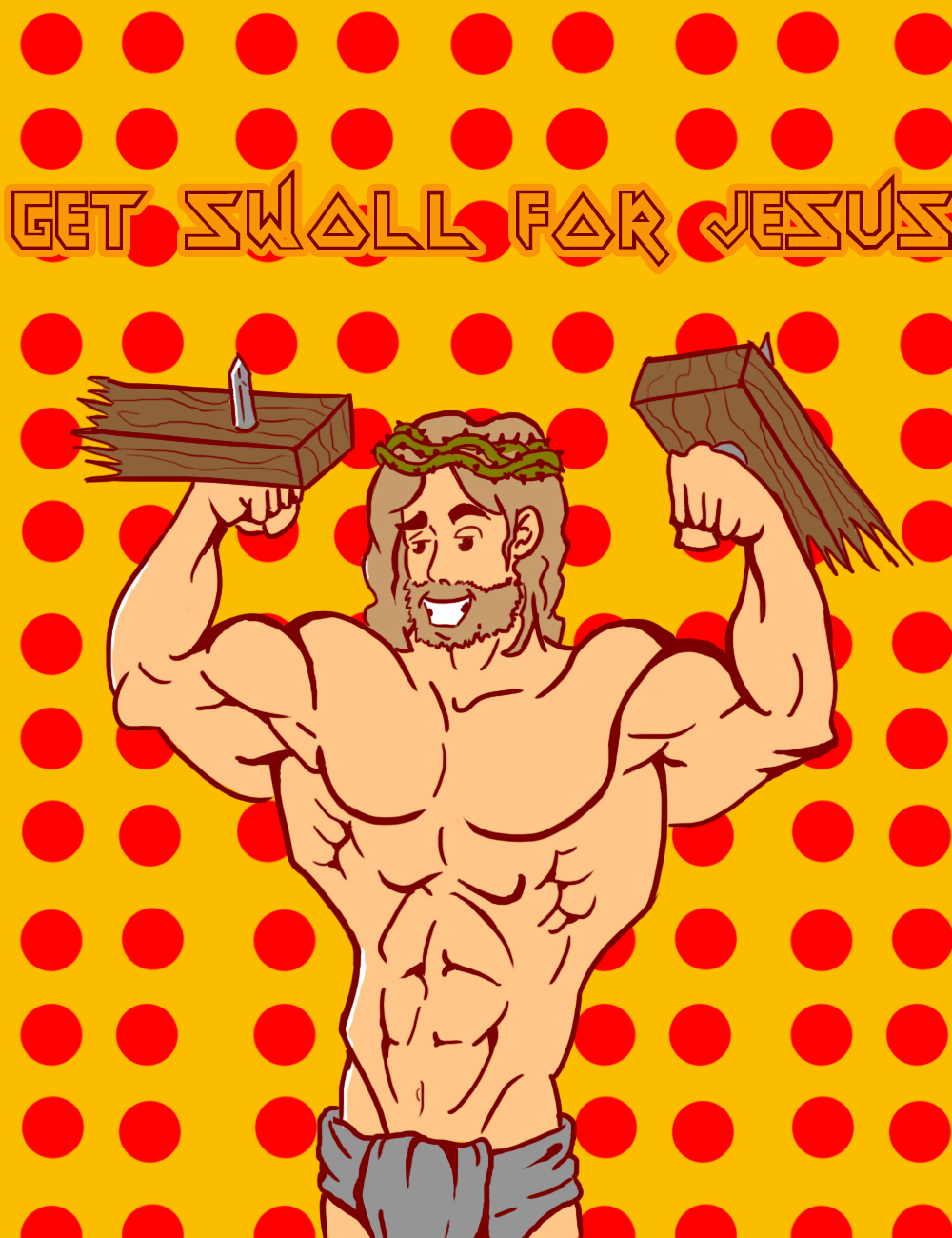 Get swoll for Jesus
