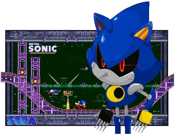 """Sonic, dead or alive, is mine."""