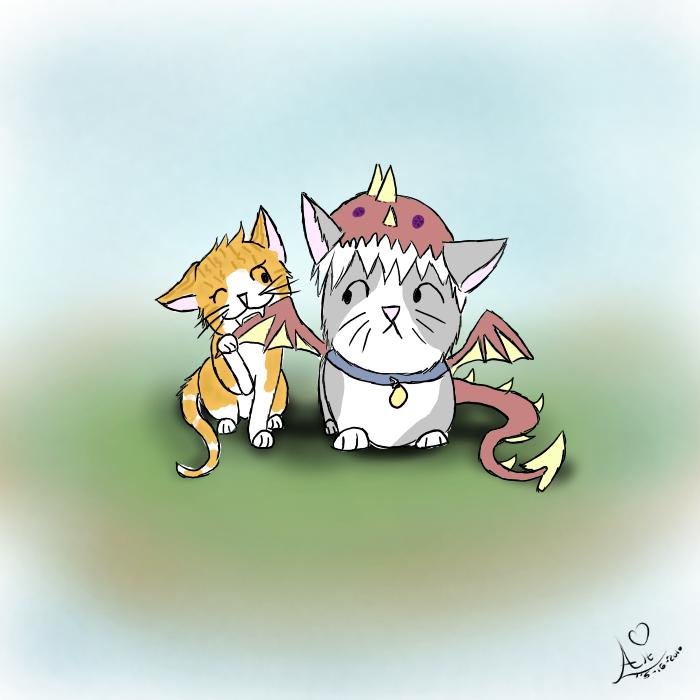 Kitten Vs Dragon