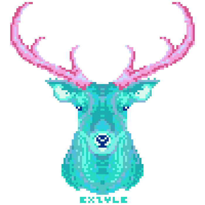teal stag for the ladies