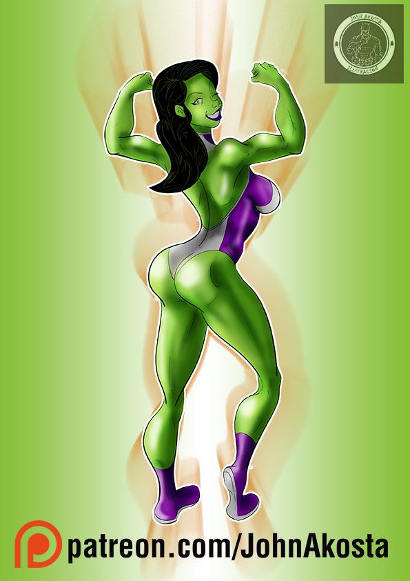 she hulk fanart