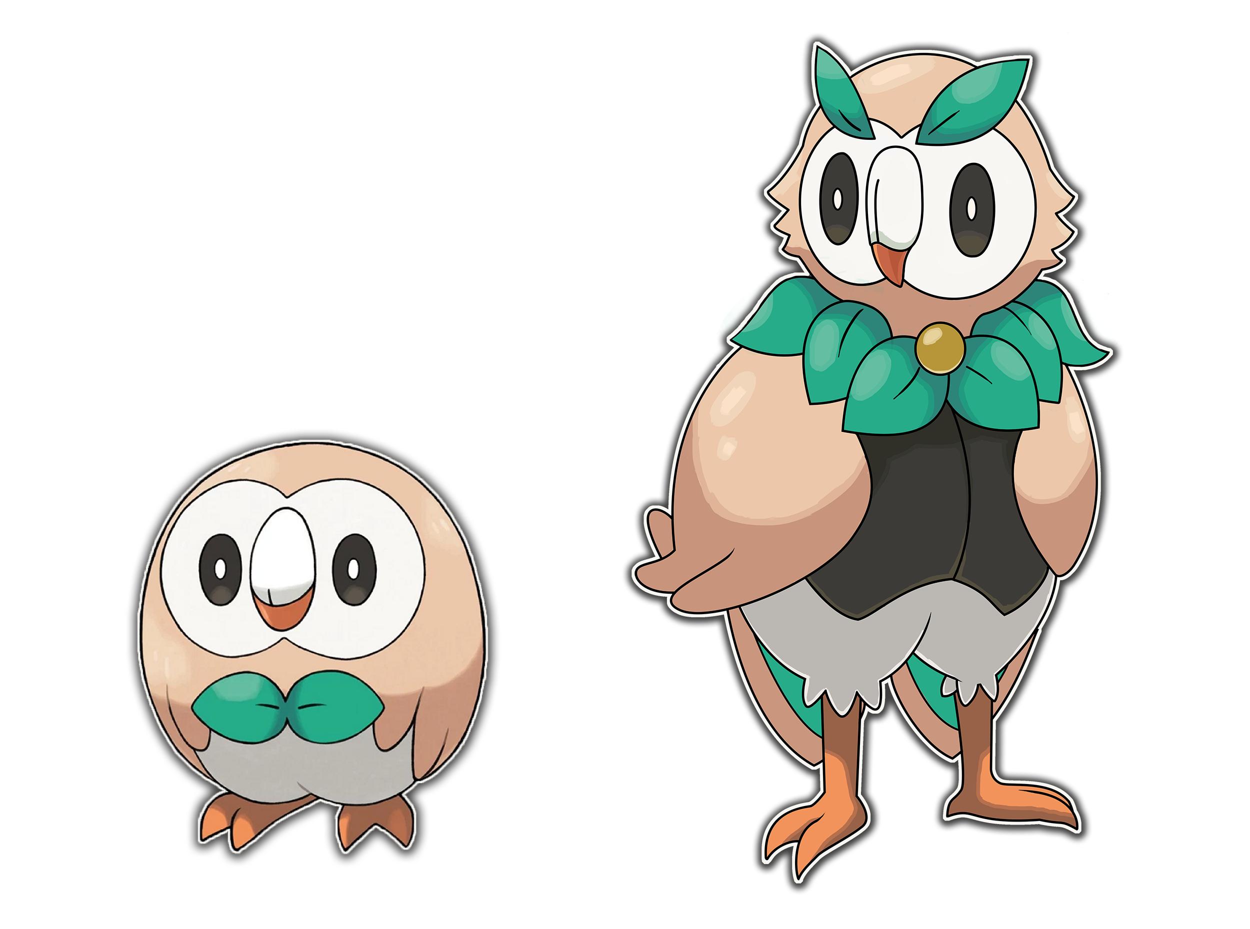 Rowlet Evolution