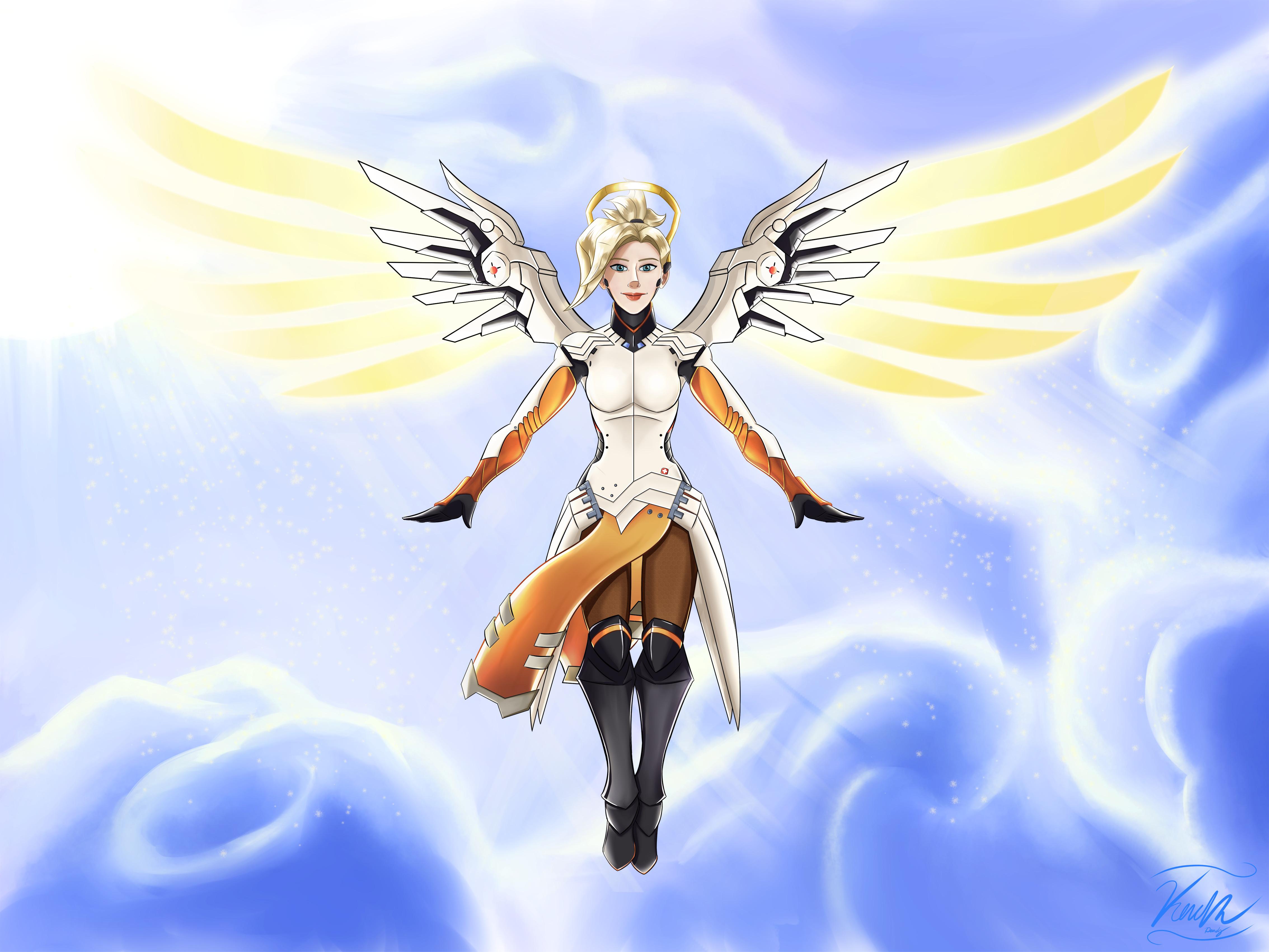 Overwatch - Angel of Mercy