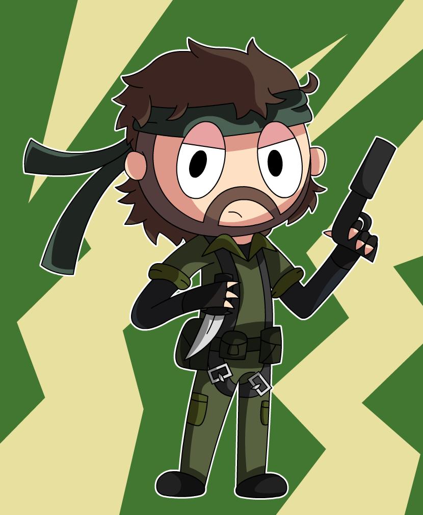 Metal Gear Solid 3   Snake