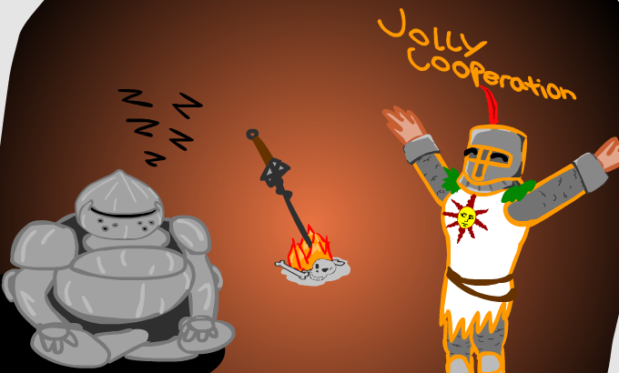 Jolly Co-operation therefore Praise The Sun!