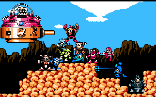 Megaman 3 world