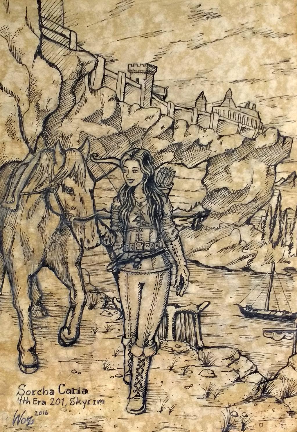 Sorcha Caria - Skyrim
