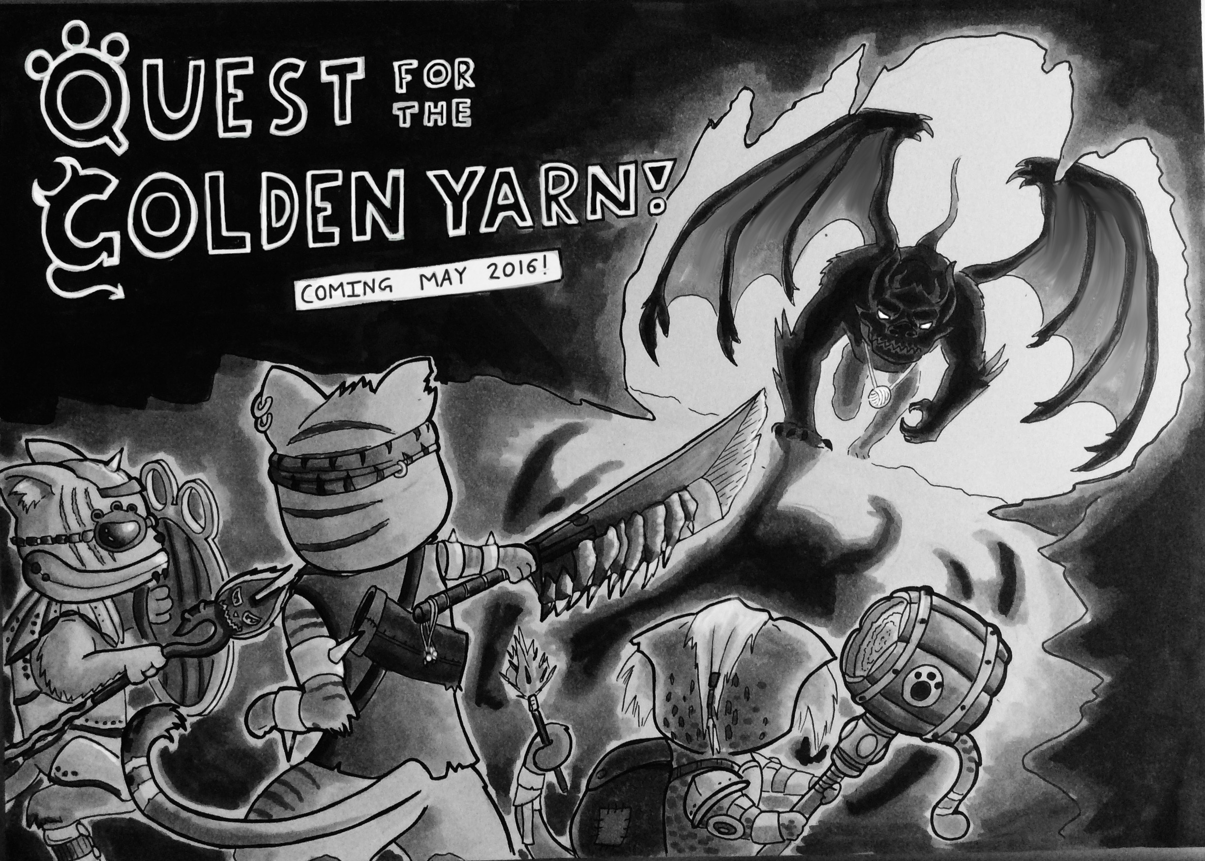 Quest for the Golden Yarn! COTM