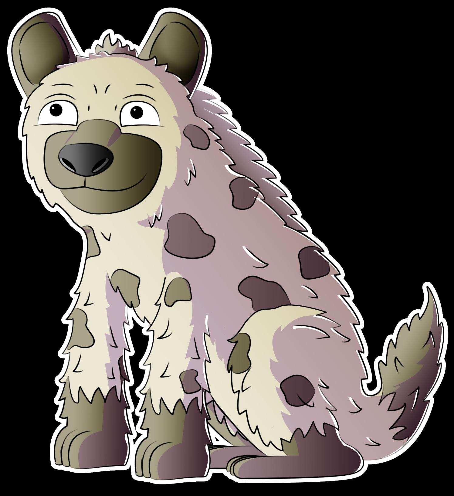 A hyena