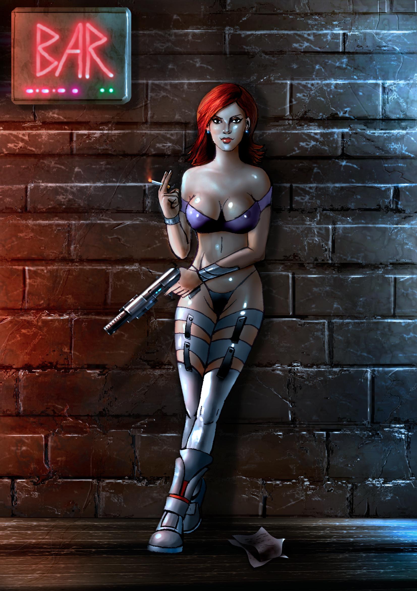 Callgirls carry guns -mouse edition