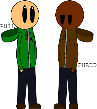 Phil Eggtree and Phred Whistler (Original Characters by JonBro)