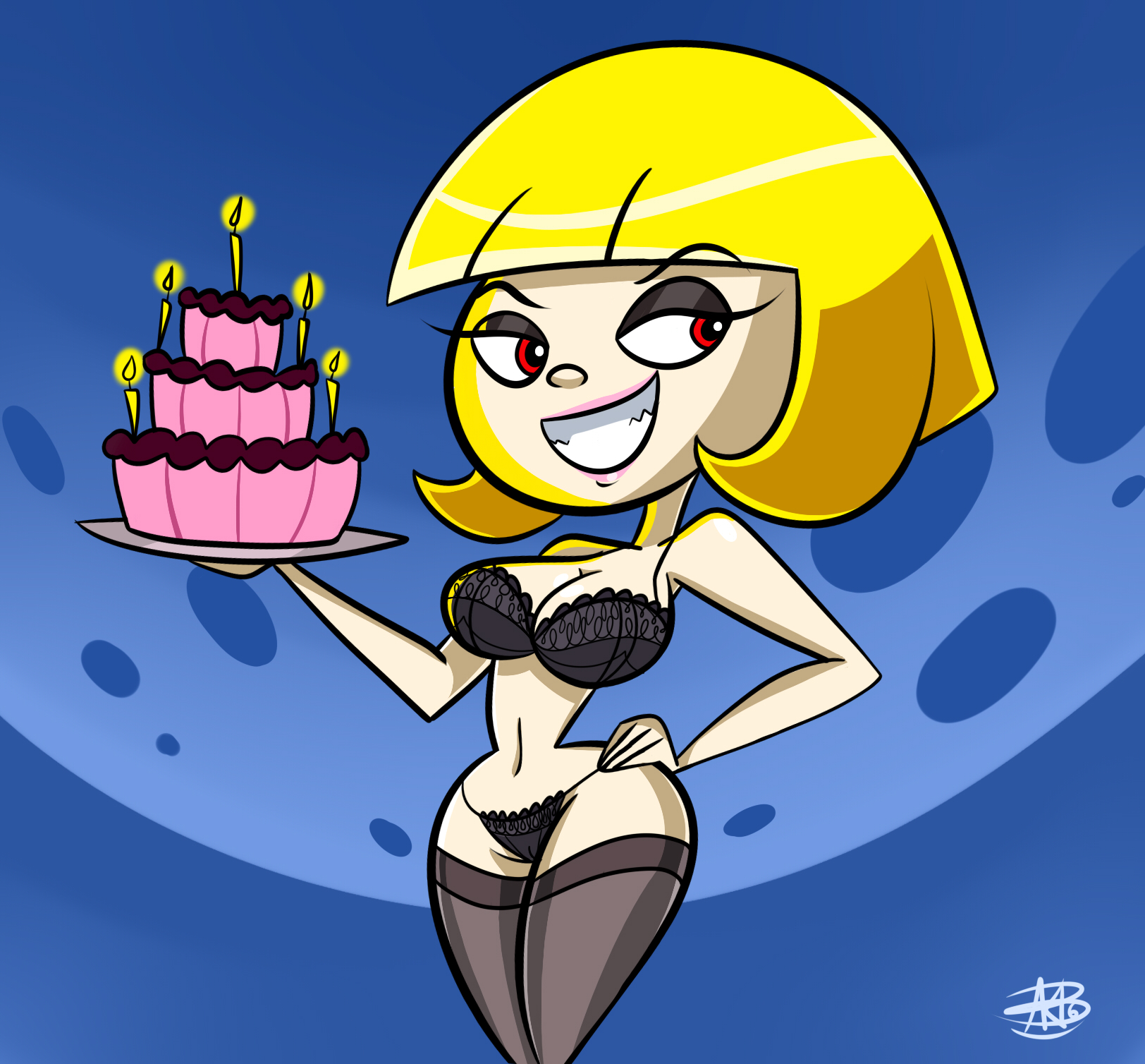 Elena and The Birthday Cake