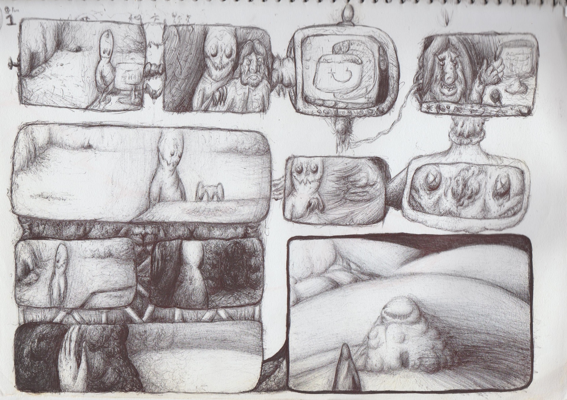 Untitled Comic, Page 1