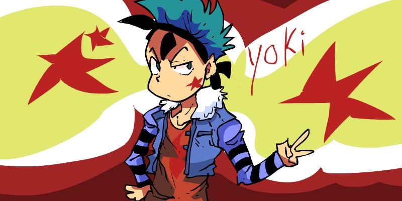 Yoki ( None sketched drawing)