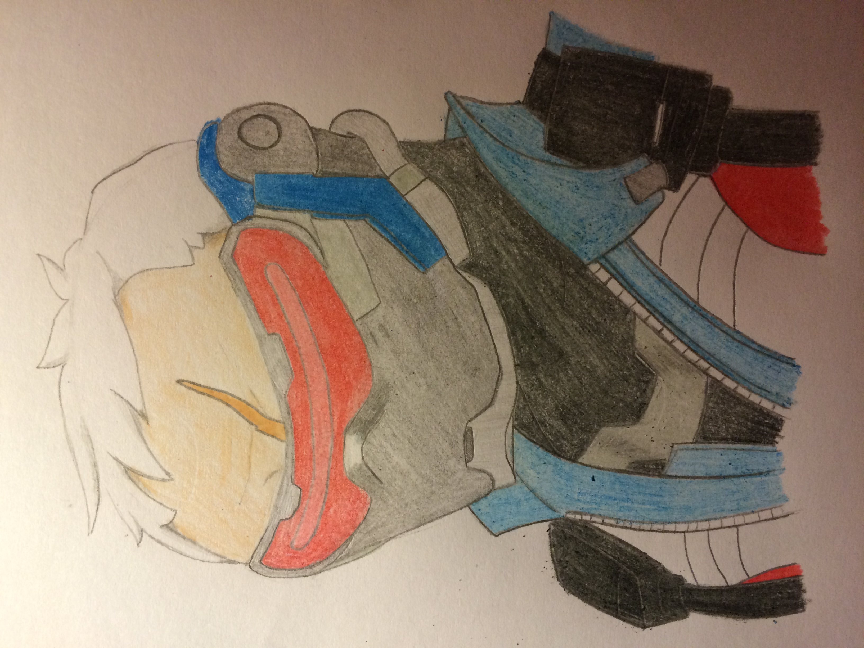 Fan art - Soldier 76