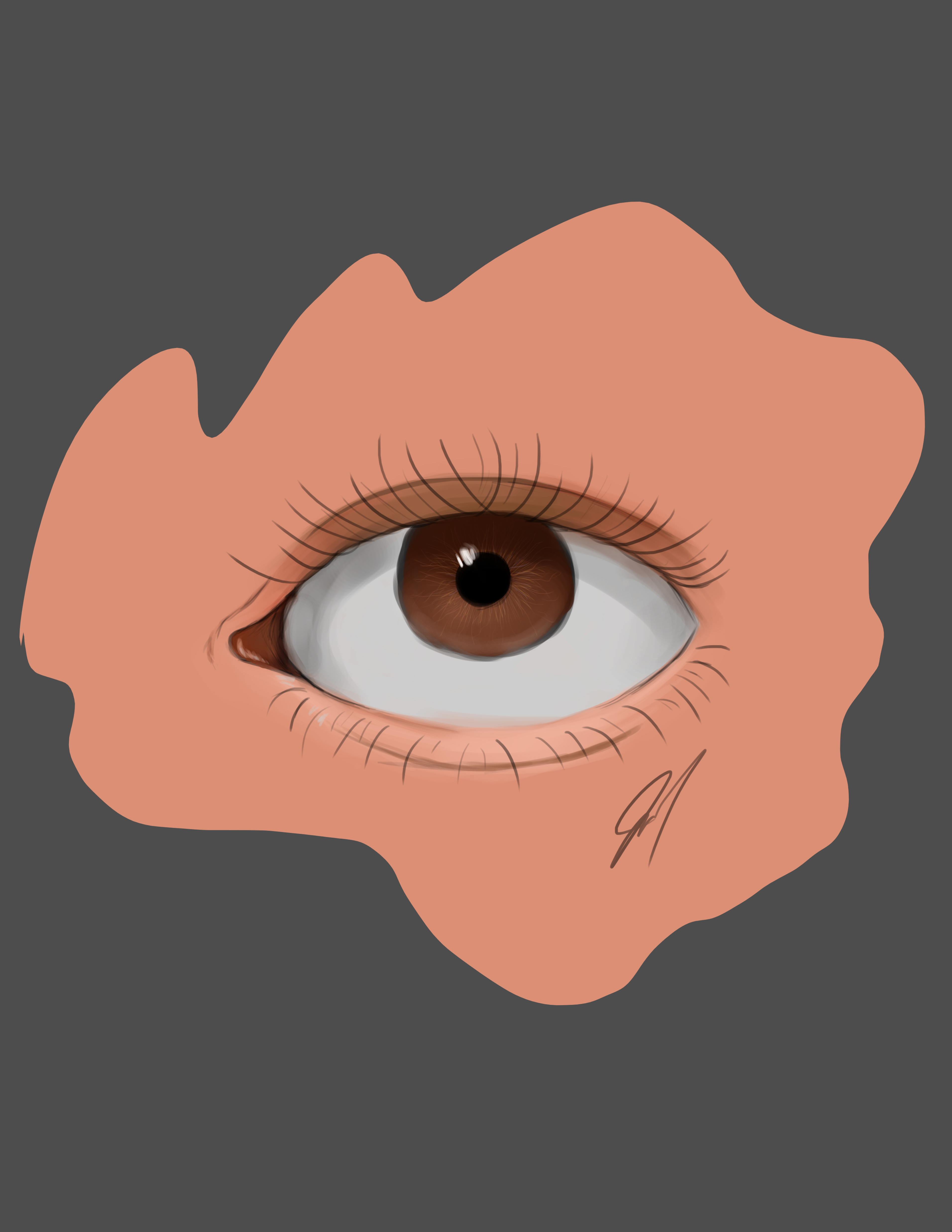 first successful painting in photoshop :D