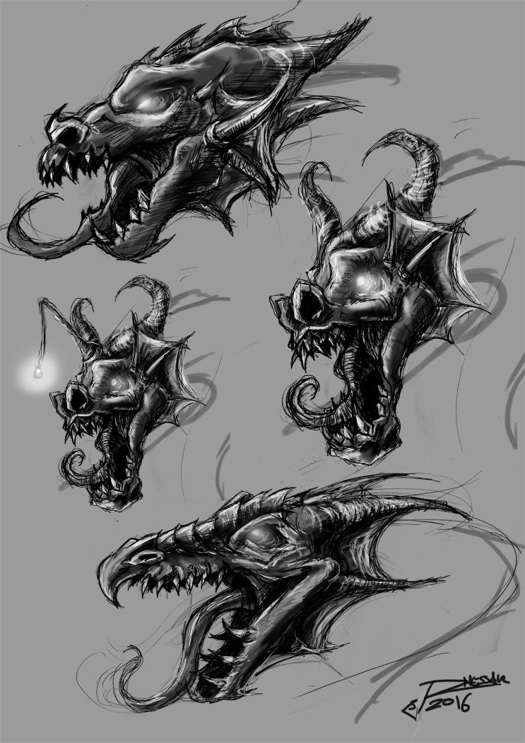 Dragonhead sketch