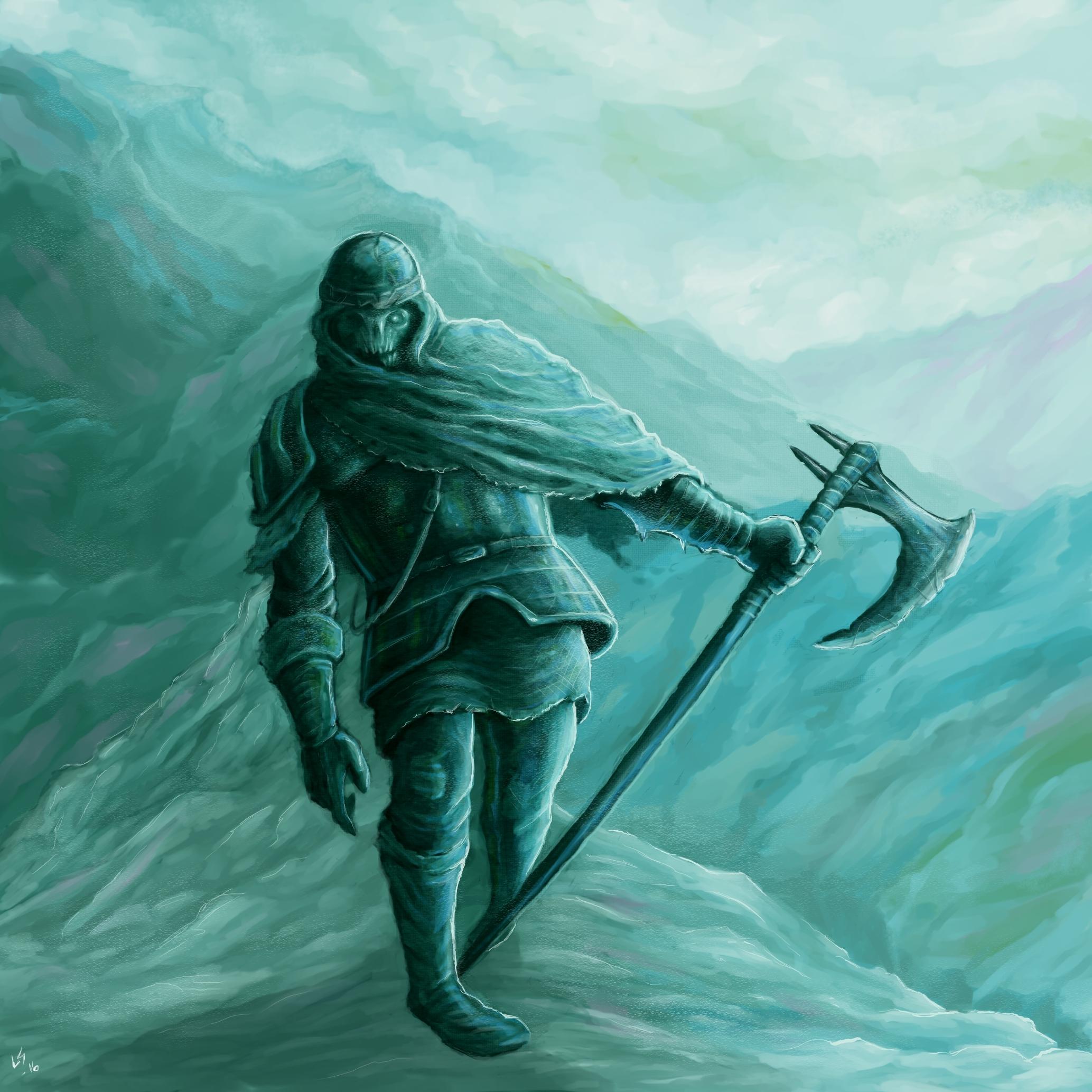 Frost Skeleton