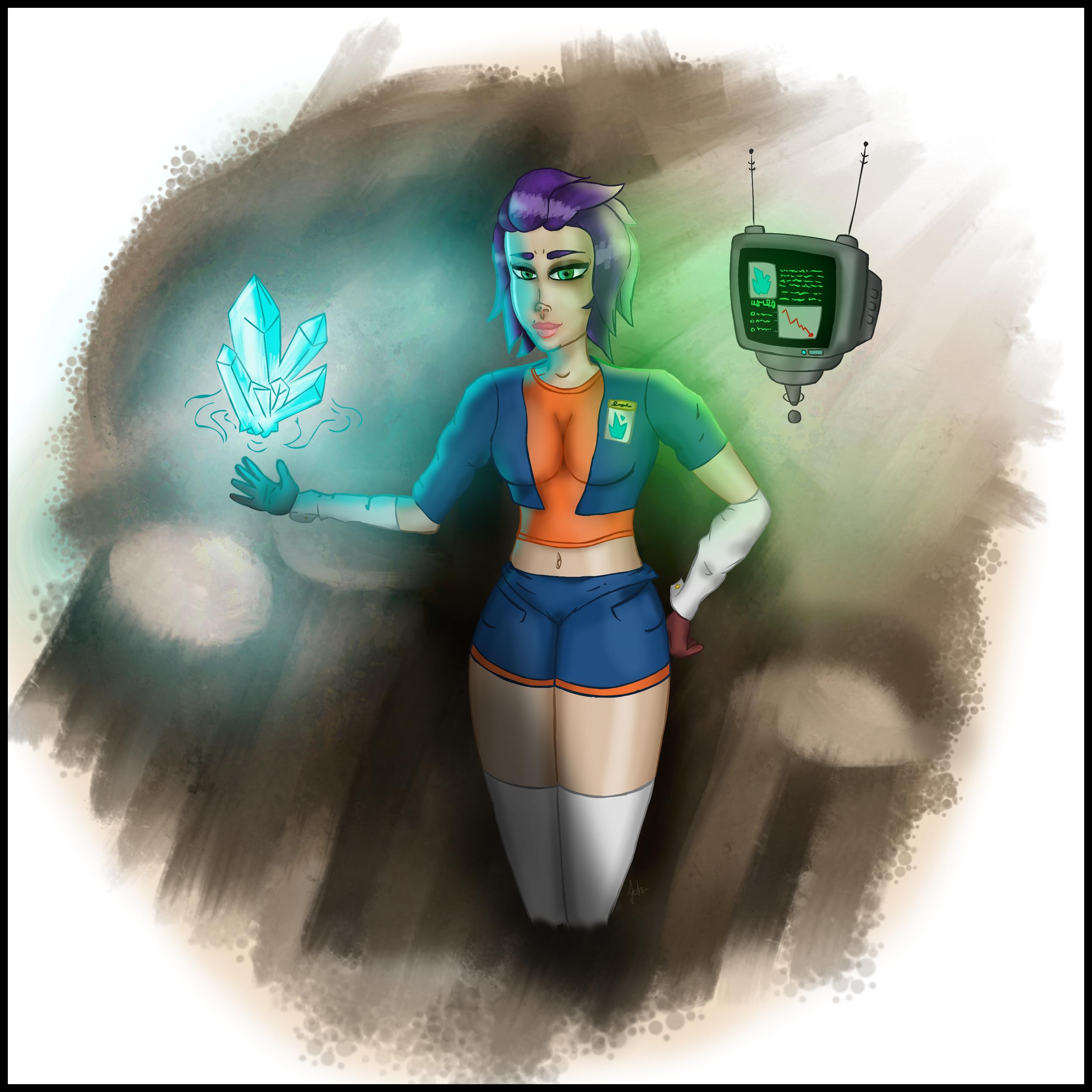 Crystal Huntress
