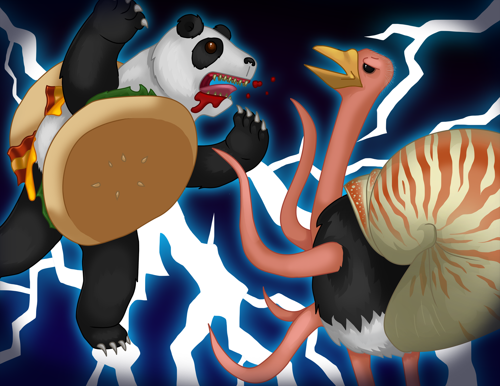 Pandaburger vs Nautrich