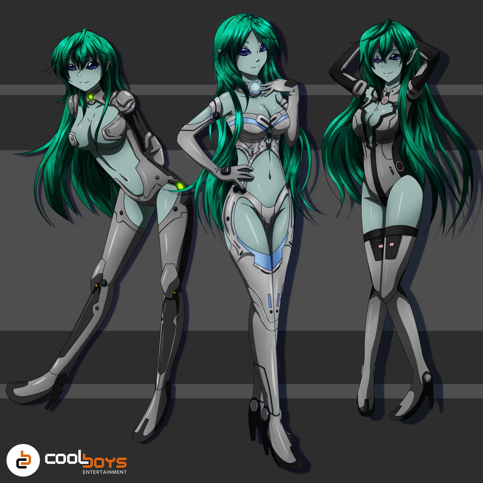 alien girls