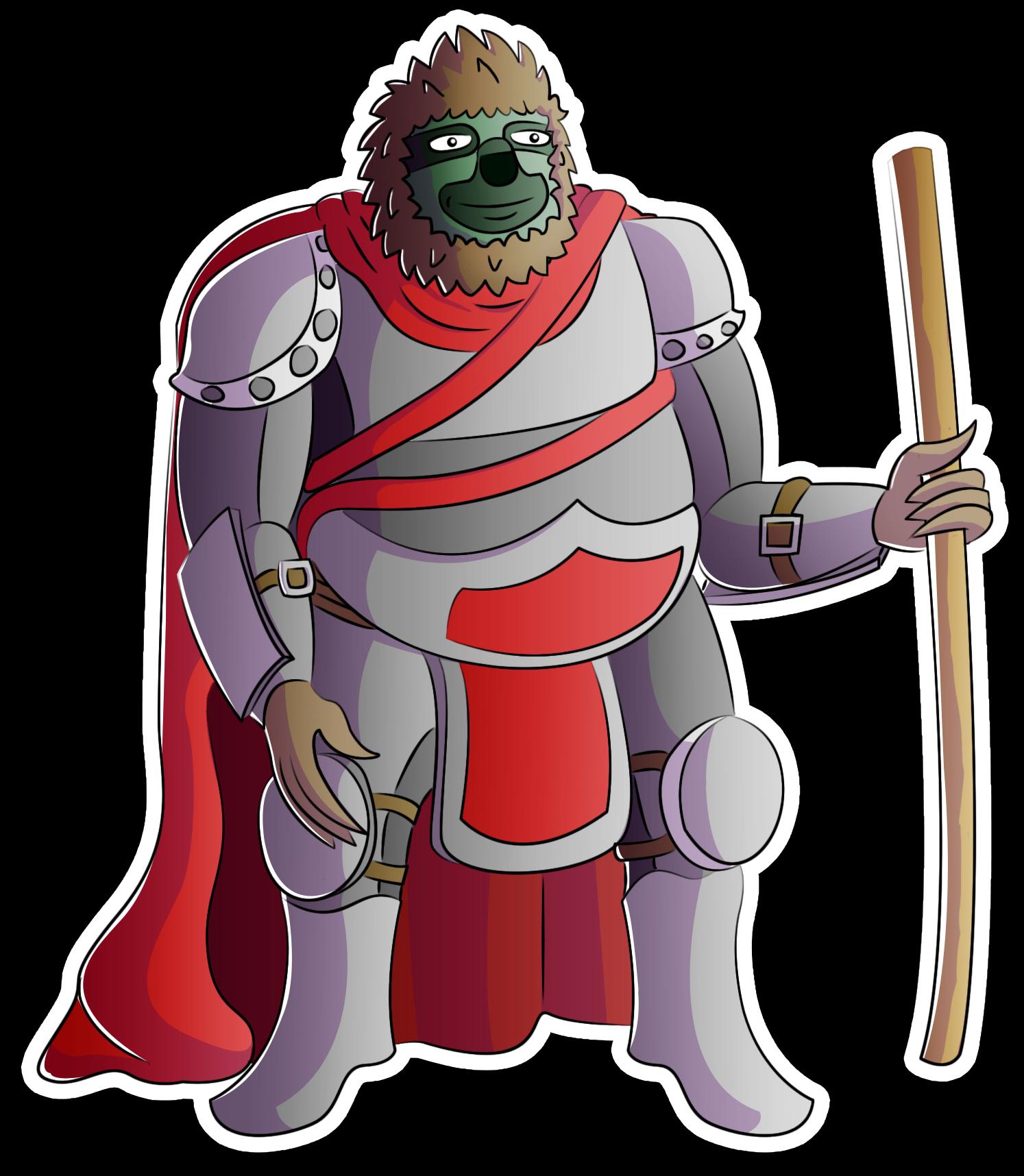 Sloth Knight