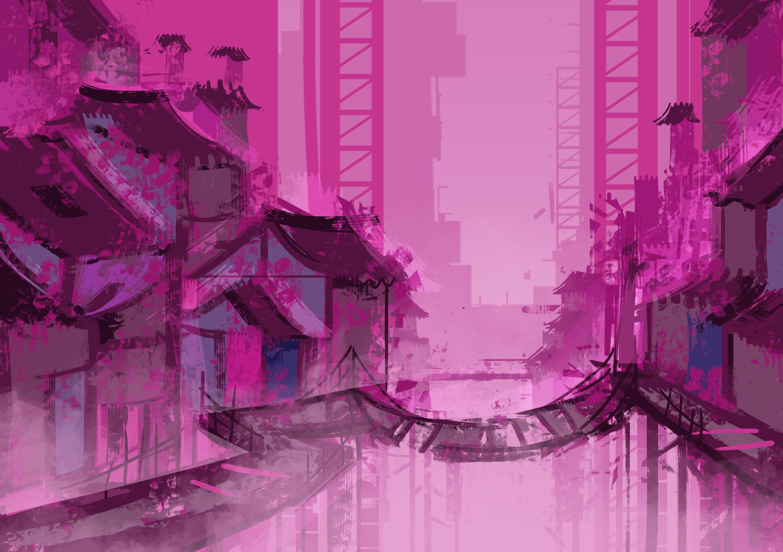 Hub town
