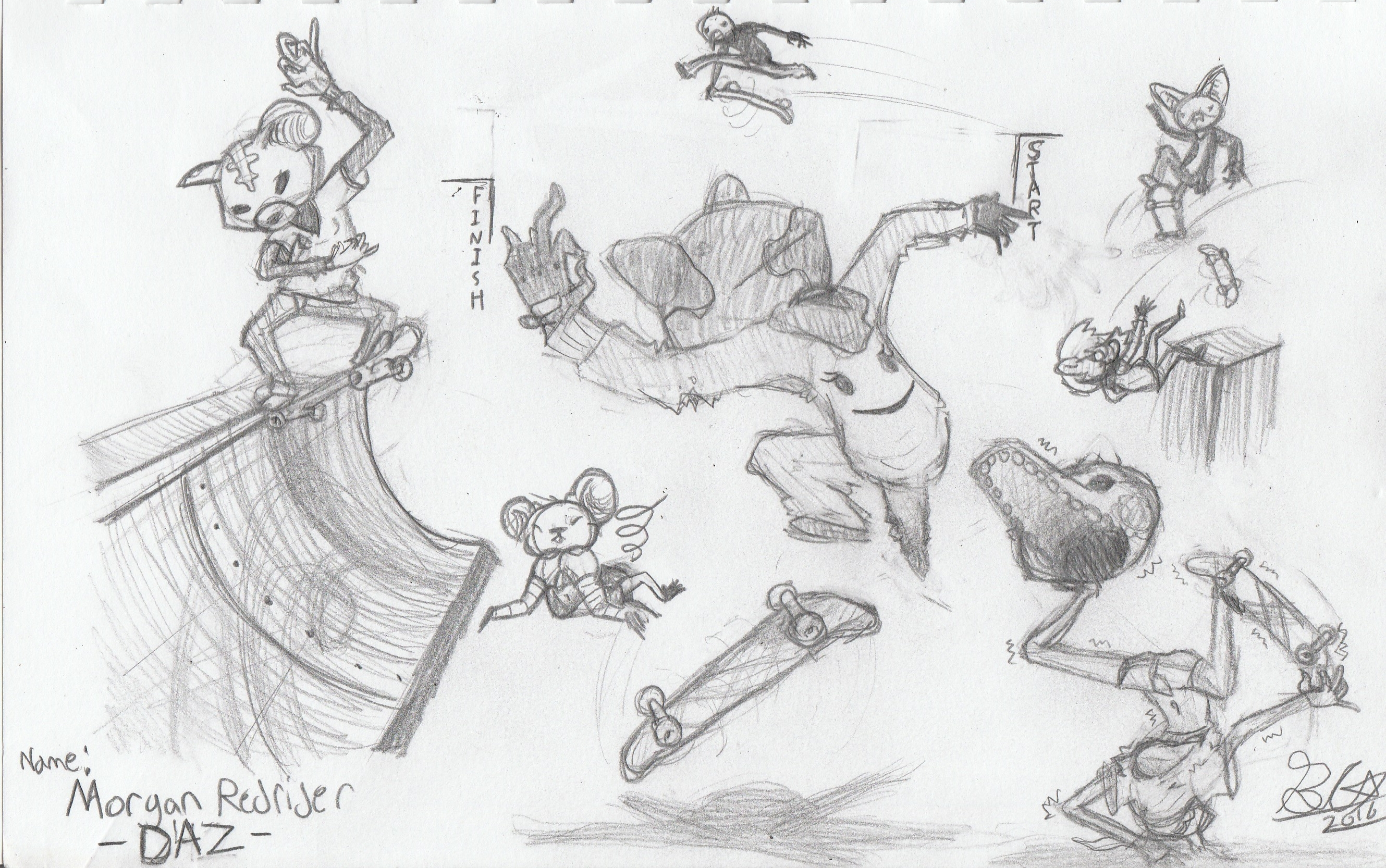Daz Border Sketch