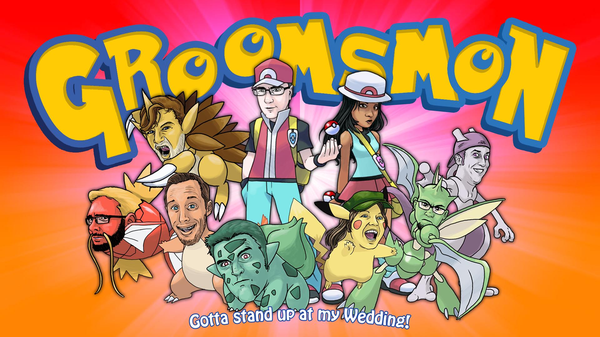 Groomsmon!