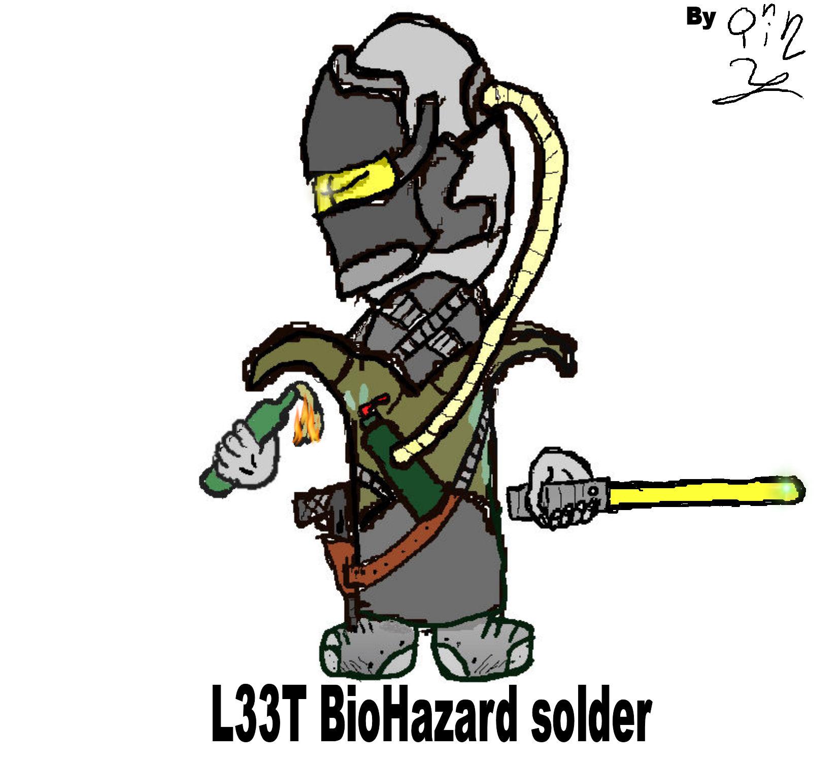 LEET BEOHAZARD SOLDER