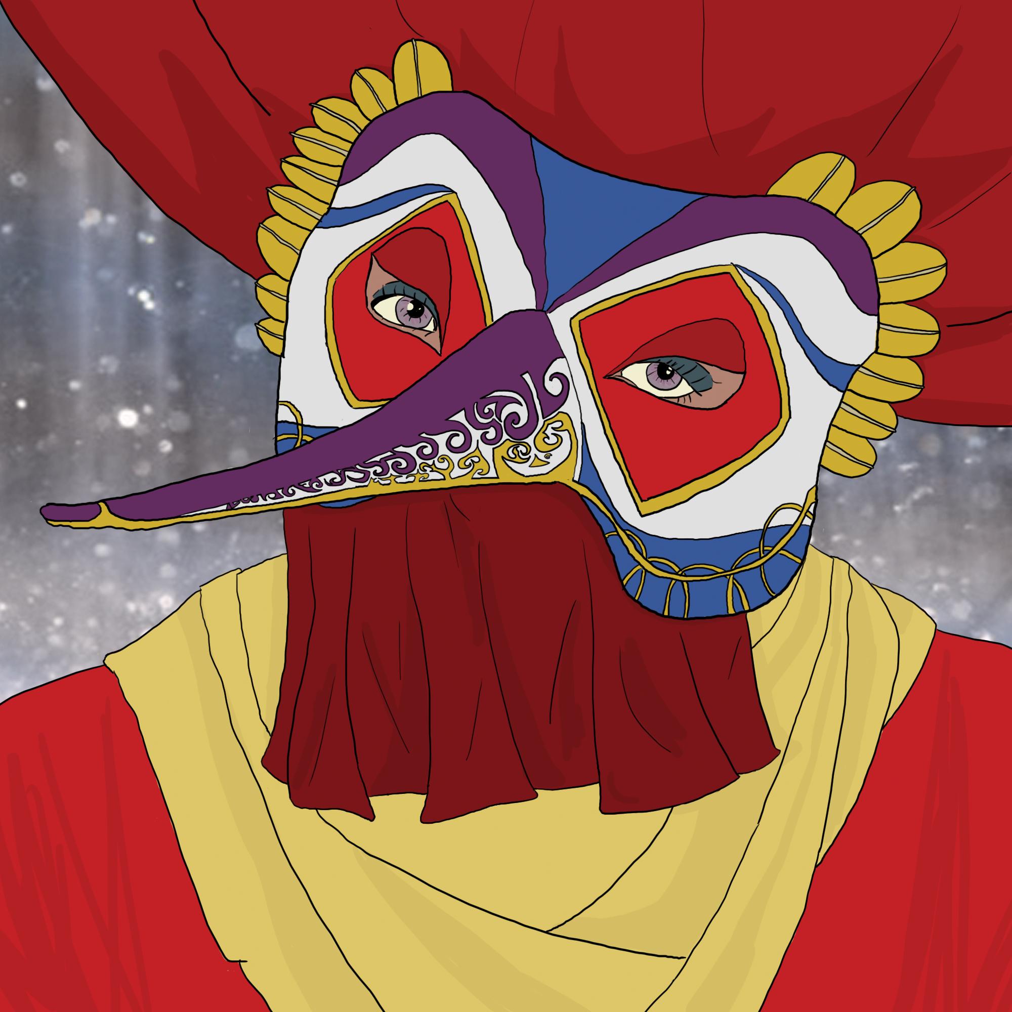 Venetian mask