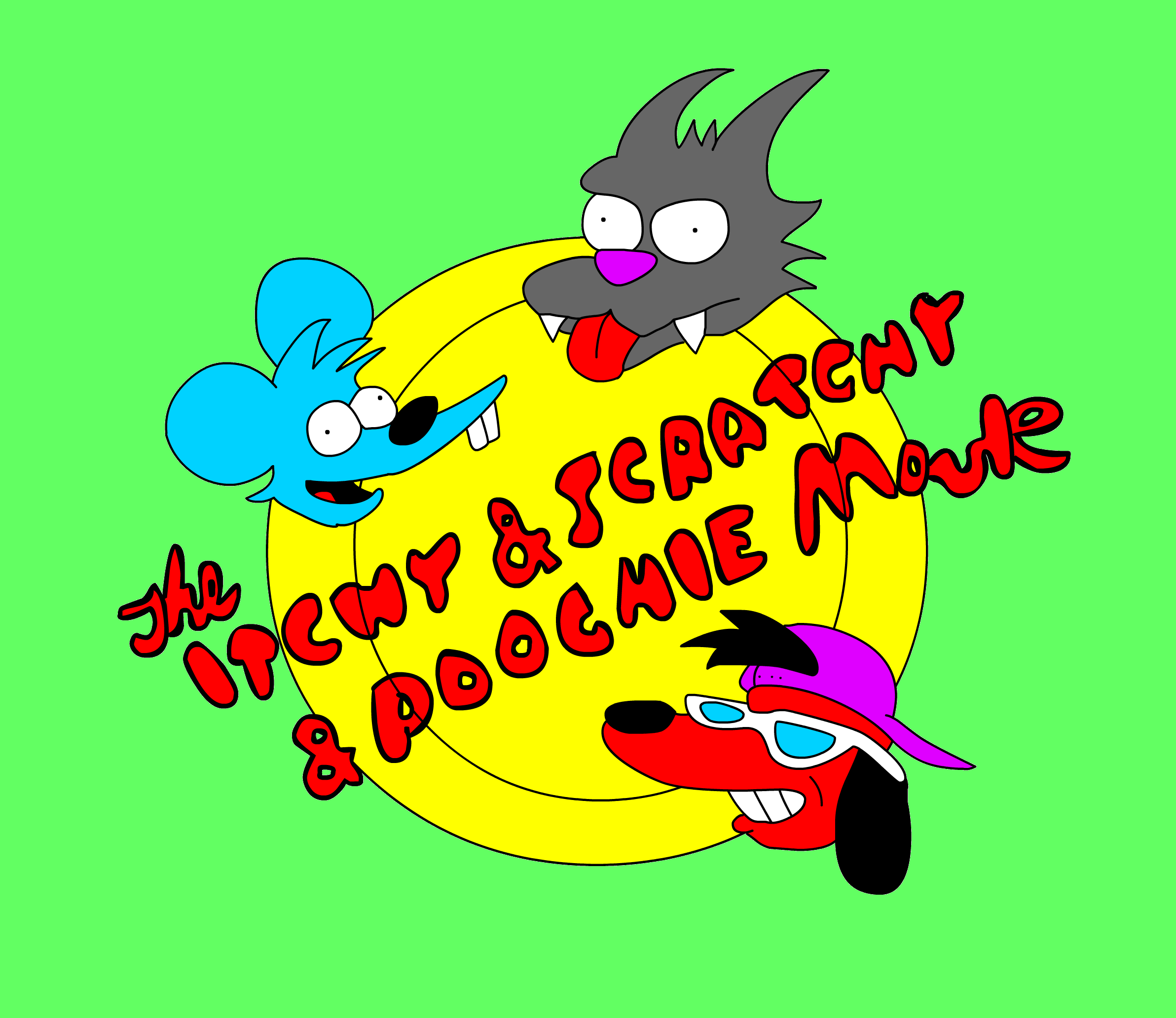 Itchy and Scratchy and Poochie Movie!!