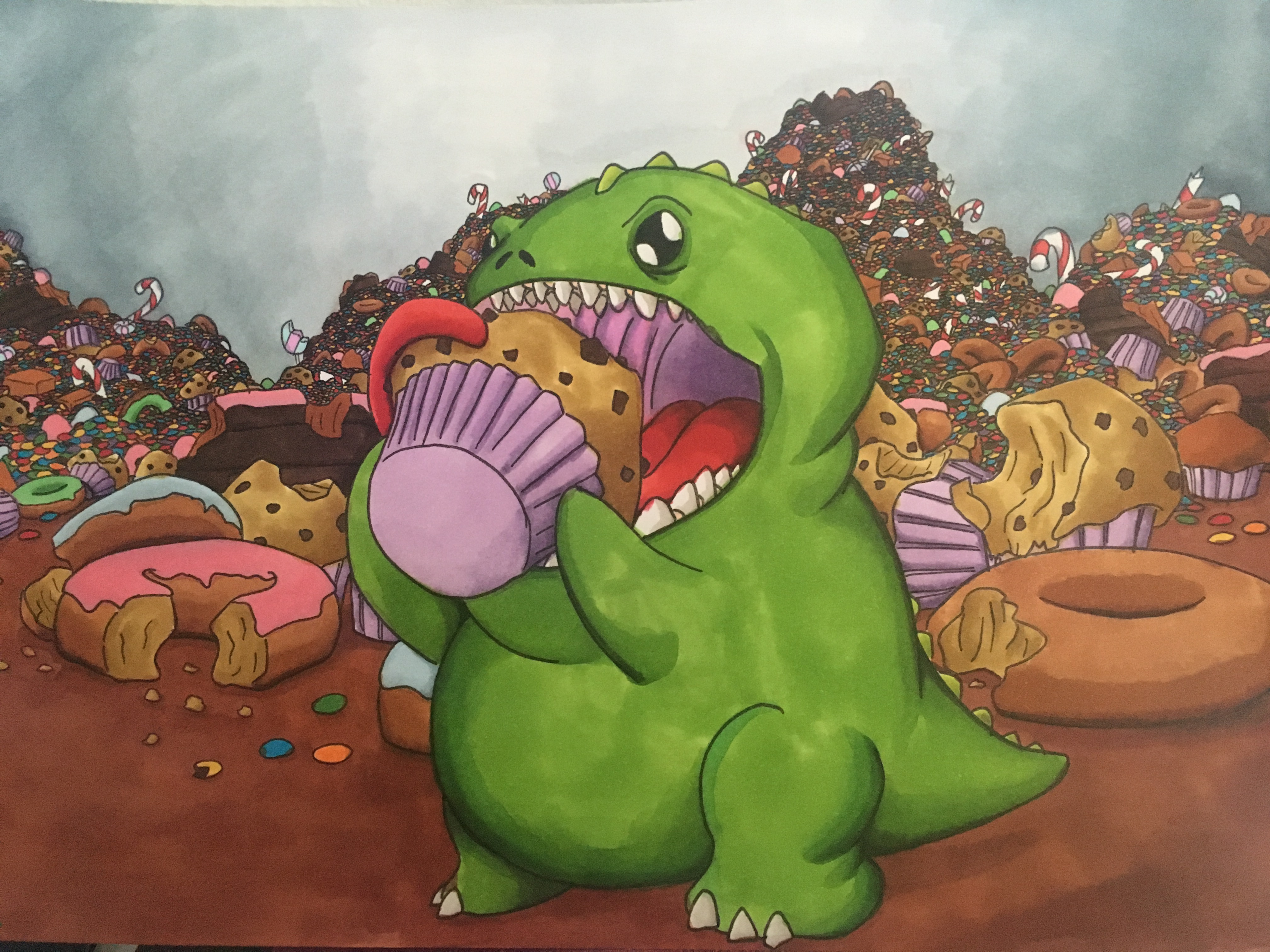 The cookie muncher