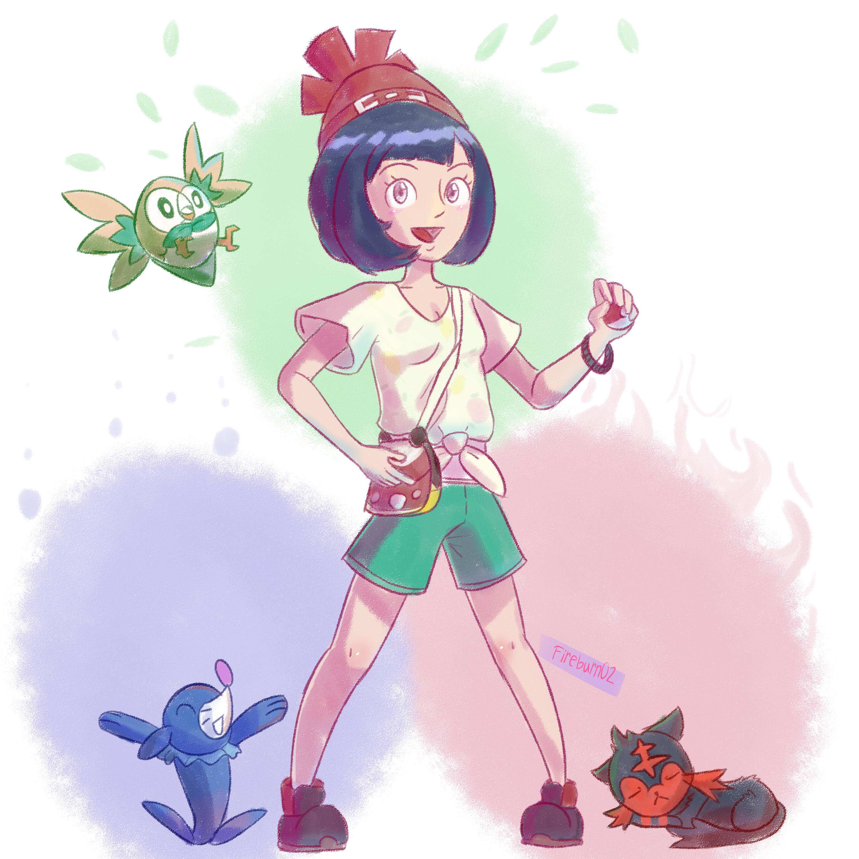 Pokemon Gen 7 Trainer and Starters!