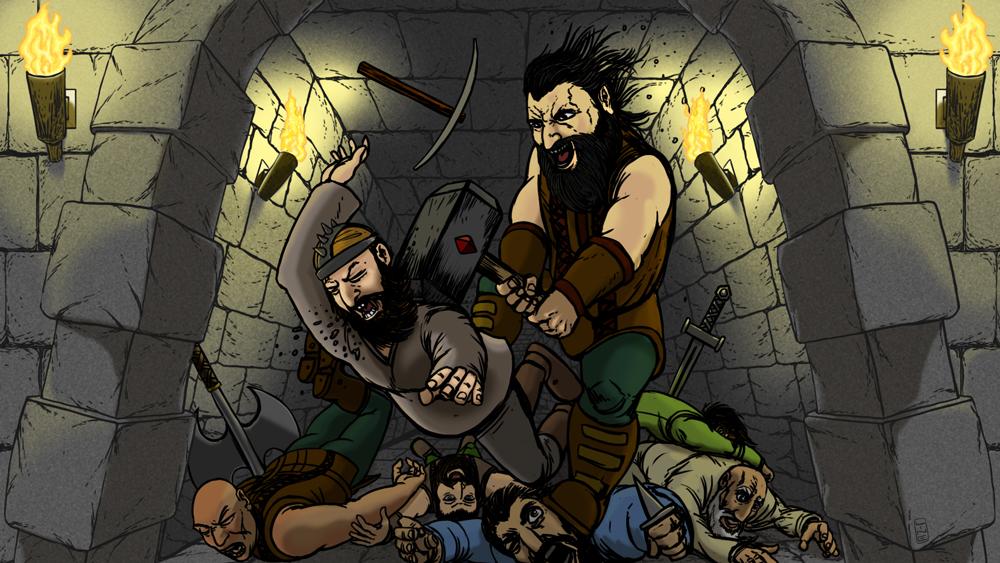 Dwarf King Final Frame
